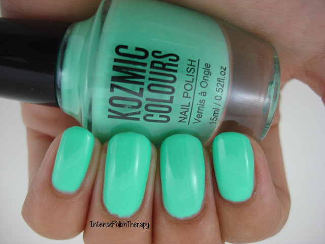 Kozmic Colours - Blue Green