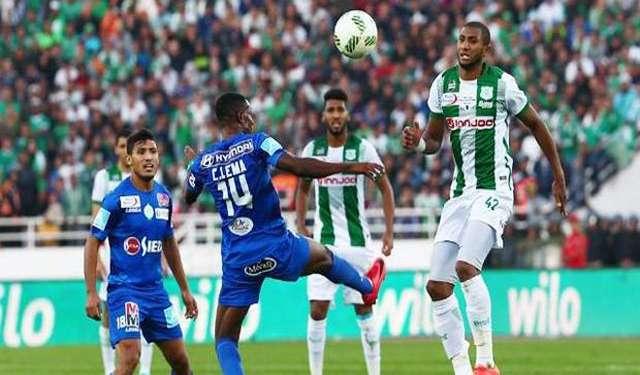 بث مباشر مباراة الرجاء والدفاع الحسني الجديدي اليوم 27-7-2020 بالدوري المغربي