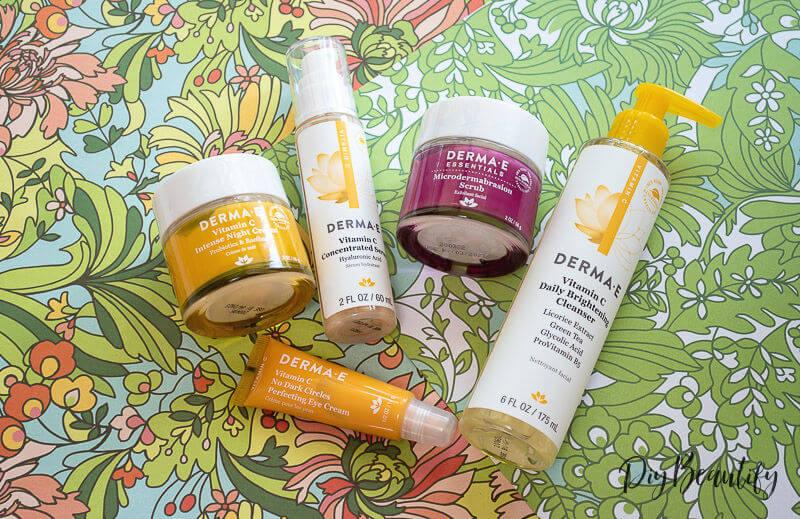 Derma E Vitamin C skincare
