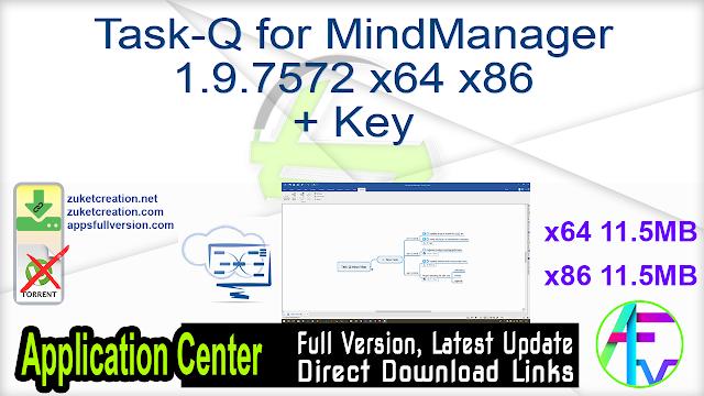 Task-Q for MindManager 1.9.7572 x64 x86 + Key