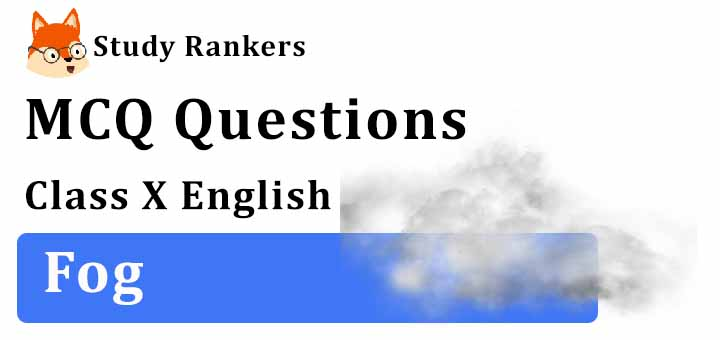 MCQ Questions for Class 10 English: Fog First Flight