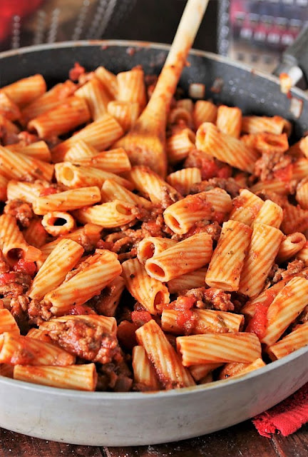 Easy Baked Mostaccioli Noodle Mixture Image