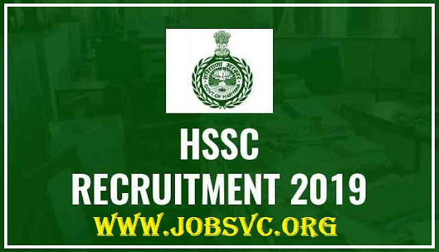 HSSC Recruitment 2019 – 778 TGT Posts | Apply Online