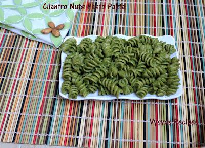 cilantro nuts