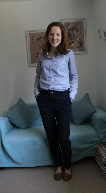 OOTD, Outfit Of The Day, Outfit, Topshop, Shirt, ASOS, Cigarette Trousers, Fashion, Fashion Blogger