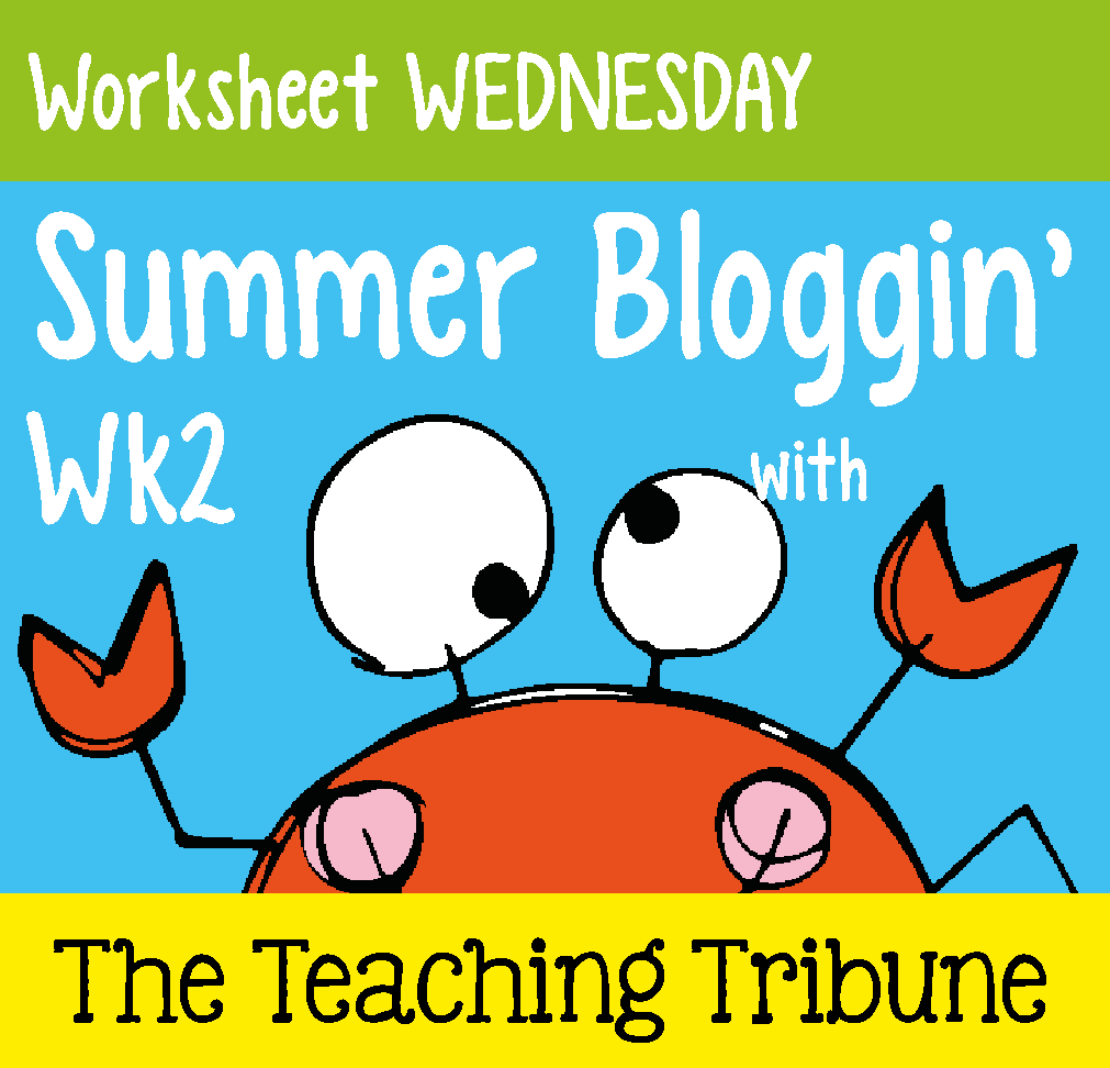 http://www.theteachingtribune.com/2014/06/worksheet-wednesday-2.html