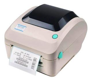 JT Xprinter XP470B 4 Inch direct thermal Barcode Label Printer, USB Interface Works without Ribbon
