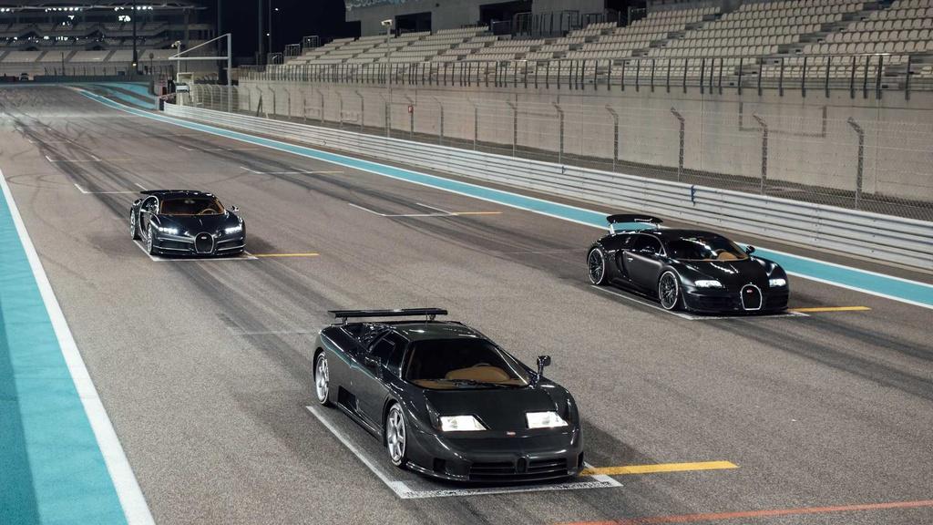 Bộ ba thần thánh giúp Bugatti trở thành biểu tượng