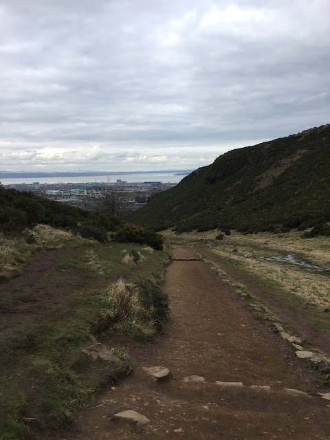 Green Route path, Arthurs seat, Edinburgh