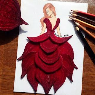 رسمة للفنان إيدجر باستخدام الشوندر