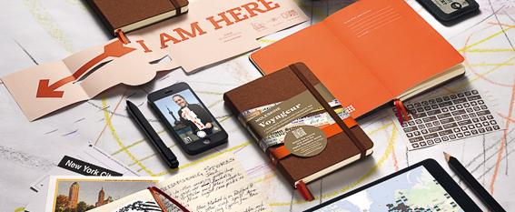 Cuadernos Moleskine. Regalos para viajeros