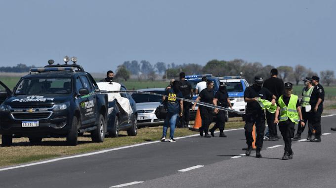 Policía vial persiguió a su expareja con el patrullero y la asesinó a balazos