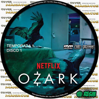 GALLETA 1 [SERIE TV] OZARK - TEMPORADA 1 - [2018] [COVER DVD]