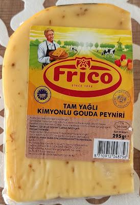 Frico Marka Tam Yağlı Kimyonlu Hollanda Gouda Peyniri Tadımı ve İncelemesi