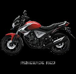 Megapro CW Renegade Red Nagamas Motor Klaten