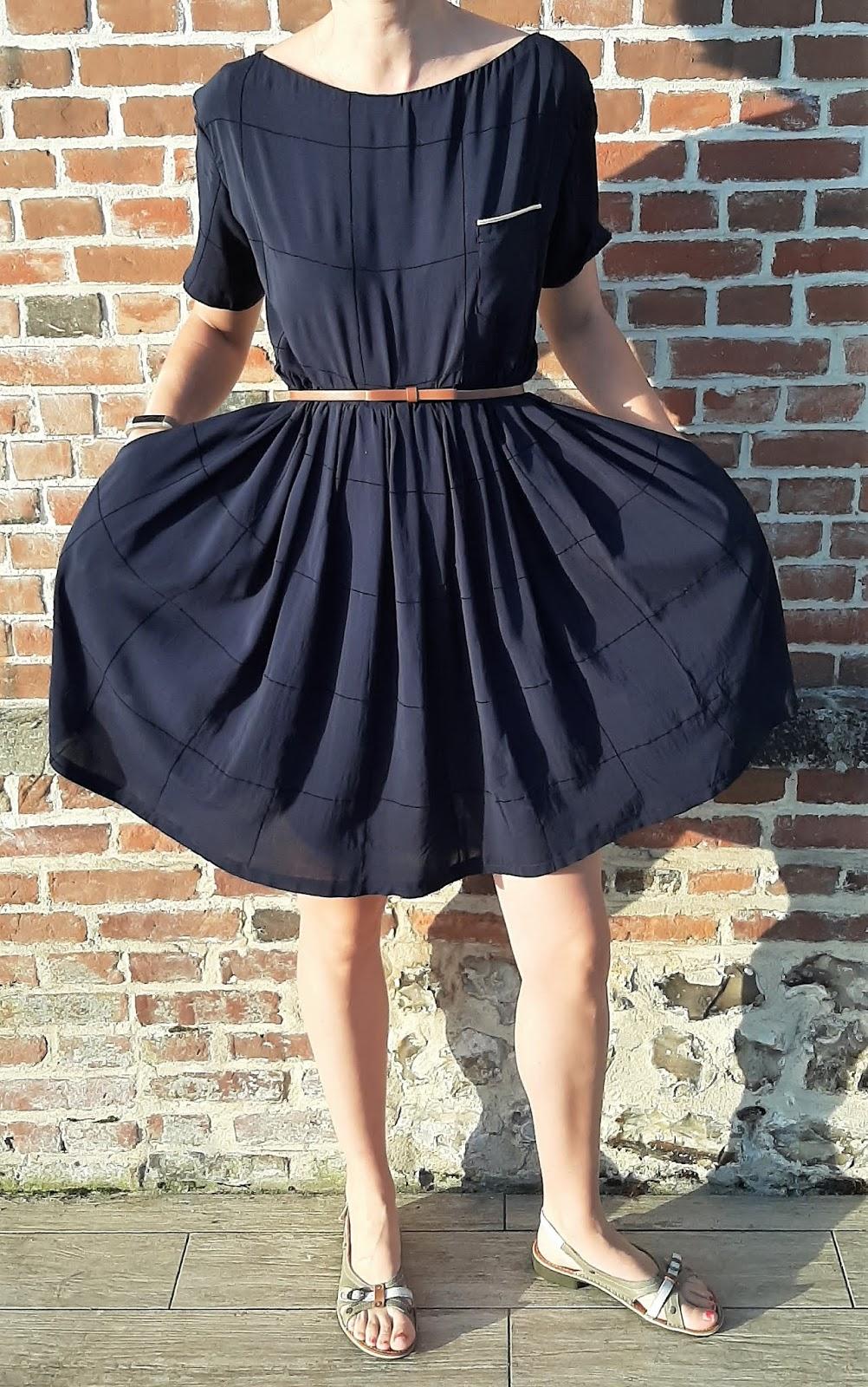 couture robe femme viscose patron gratuit