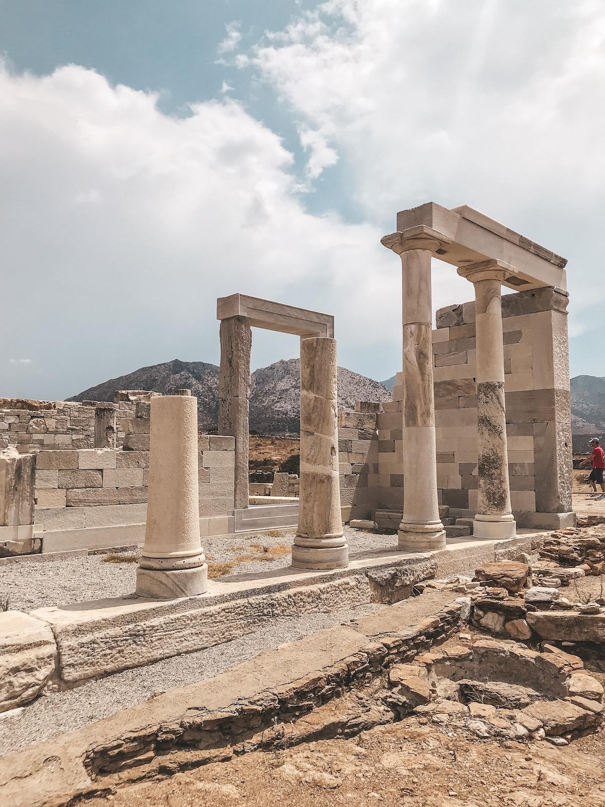 Naxos Travel Diary Reise Tipps Schönste Orte Schönste Strände der Insel Ano Sagri Dorf Demeter Tempel