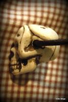 Lovelea's skull necklace, detail