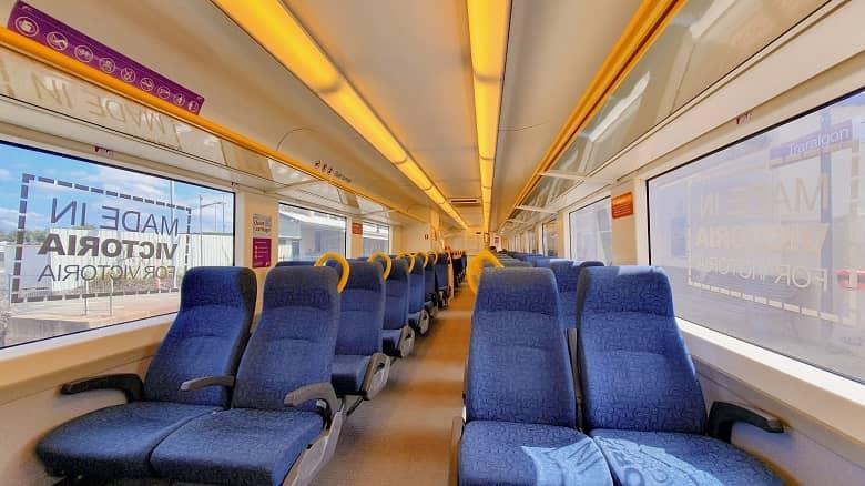 regional Victoria train