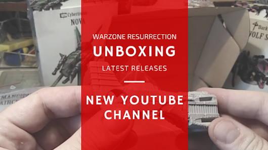 Warzone Resurrection unboxing video - YouTube channel is live