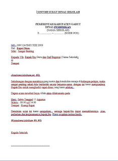 download format file contoh surat dinas sekolah resmi terbaik terbaru gratis doc