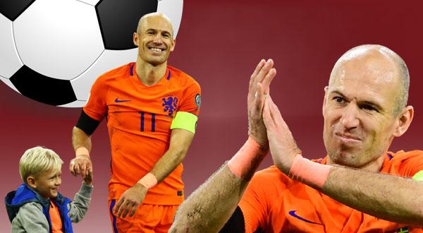 آريين روبن يعشق التنس قبل كرة القدم Arjen Robben