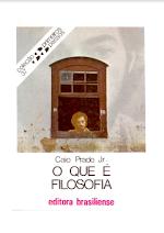 Coleção Primeiros Passos O Que é Filosofia.pdf
