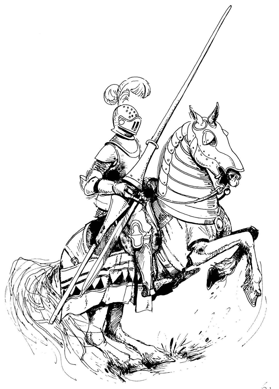 fiver knights coloring pages | All the Funny Ones ! : Funny King Arthur Story