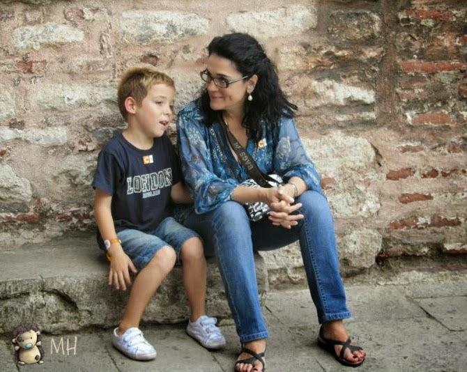Ana y Rubén en Turquía