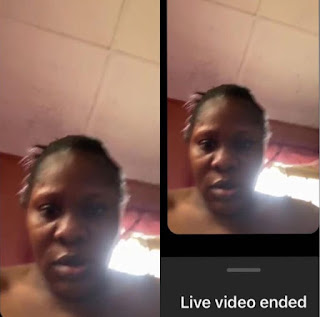 Owner Of Instablog Screams 'Jesus' As She Mistakenly Shows Her Face On Live Video