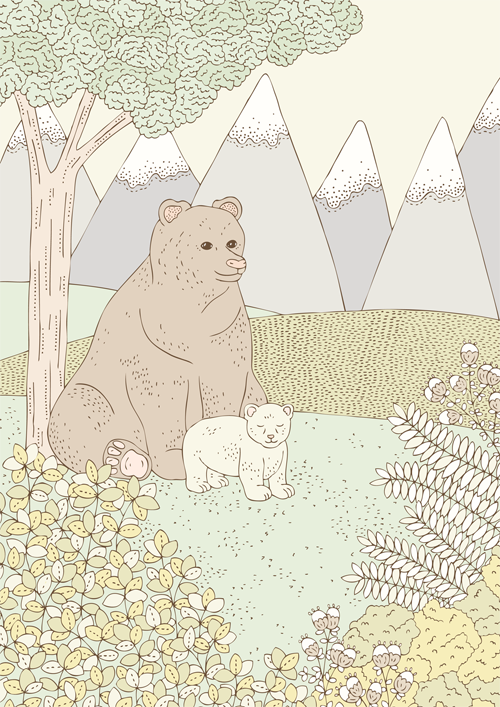 Emma Margaret Illustration Bears 2016