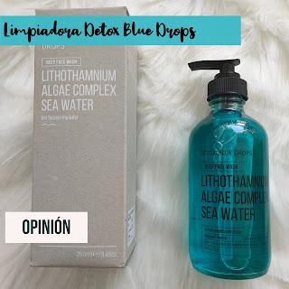 Limpiadora Detox Blue Drops 💦