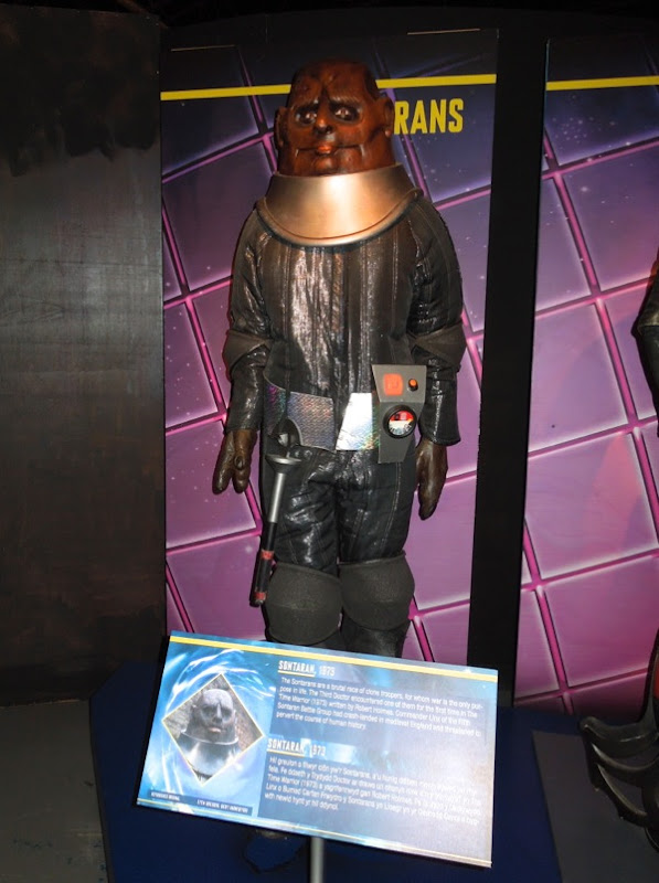 Sontaran Commander Linx Doctor Who 1973