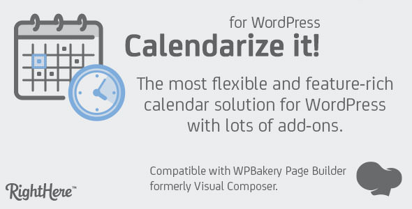 Download Calendarize it! for WordPress v4.9.3