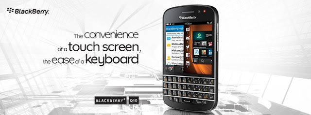 Blackberry Q10 Banner
