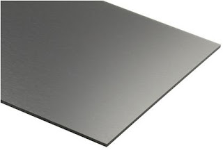 Black Anodized aluminum Sheet