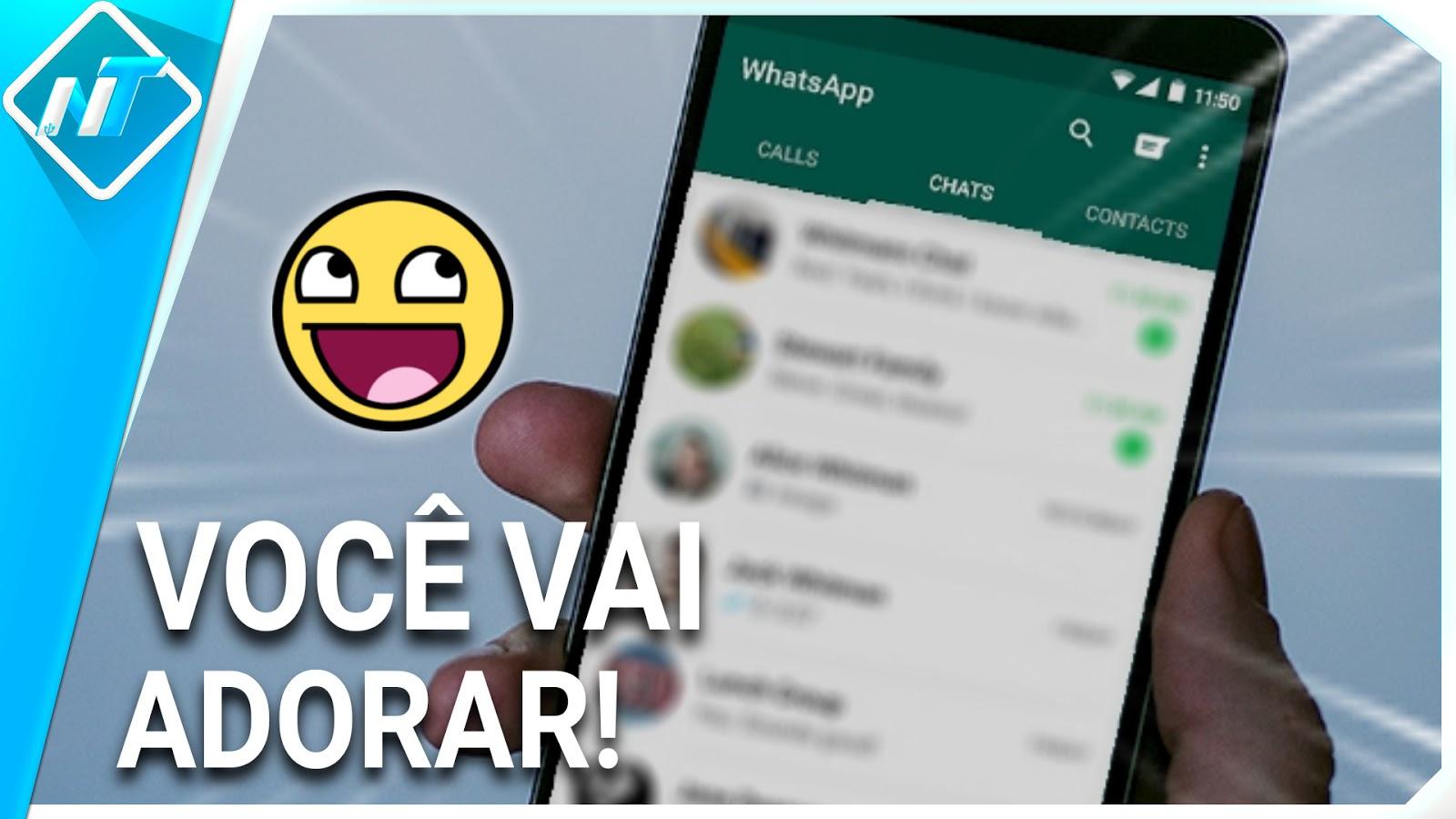 VOCÊ JÁ VIU? Você vai adorar esse aplicativo para usar no teu WhatsApp
