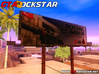 Mod GTA V Biillboards (Painéis do GTA V) para GTA San Andreas