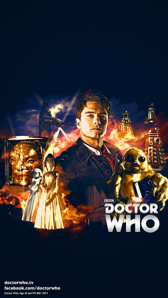 Geek Girl: New Film Style Doctor Who Wallpaper by Lee Binding