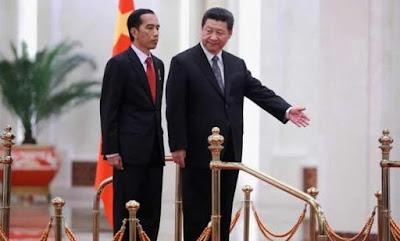 Jokowi dan Presiden China Xi Jinping