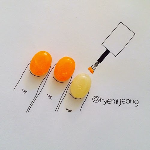 01-Nails-Hyemi-Jeong-Everyday-Things-to-Draw-With-www-designstack-co