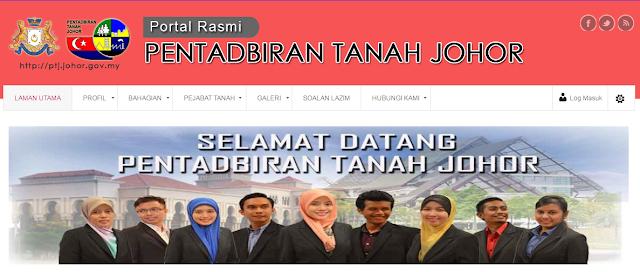 Rasmi - Jawatan Kosong di (PTGJ) Pejabat Tanah dan Galian Johor 2019