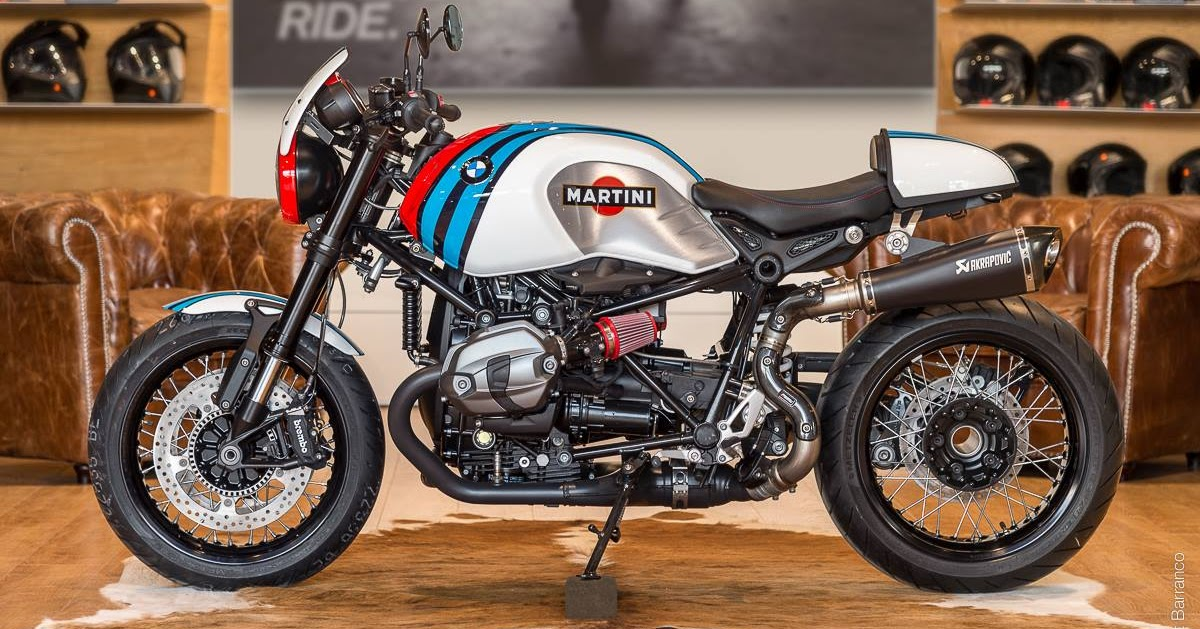 racing caf bmw r ninet martini by bmw moto ride toulouse. Black Bedroom Furniture Sets. Home Design Ideas