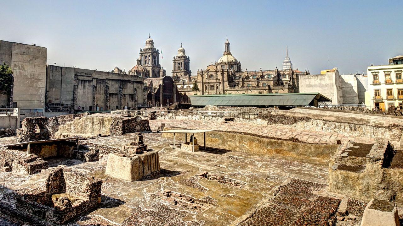 arquitectura del imperio azteca