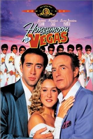 Poster Of Honeymoon in Vegas (1992) Full Movie Hindi Dubbed Free Download Watch Online At worldfree4u.com