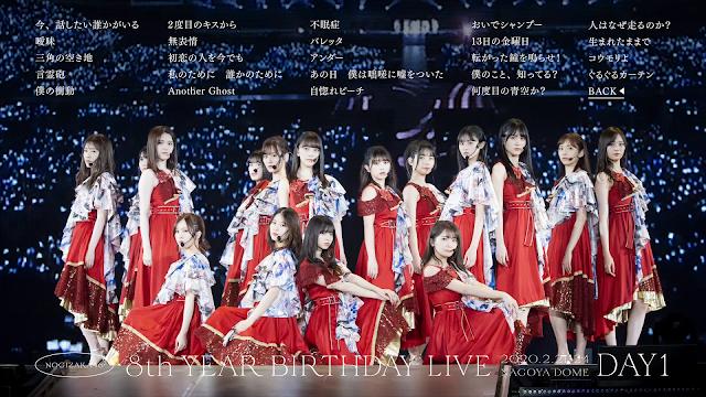 Nogizaka46 8th Birthday Live Day 1 - 4 + Behind Scene