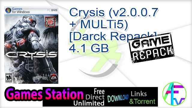 Crysis (v2.0.0.7 + MULTi5) [Darck Repack]  4.1 GB