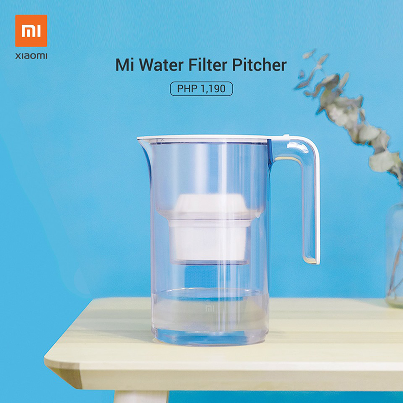 Xiaomi releases Mi Water Filter Pitcher in PH, priced at PHP 1,190!