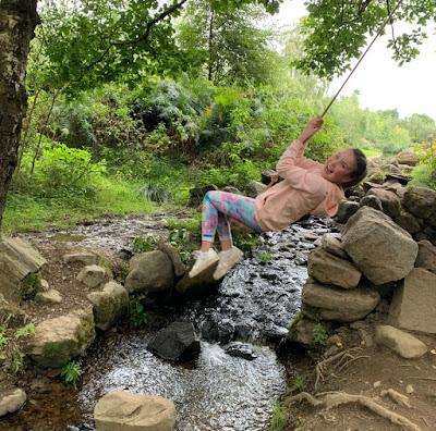 Comrie Croft Perthshire Swing