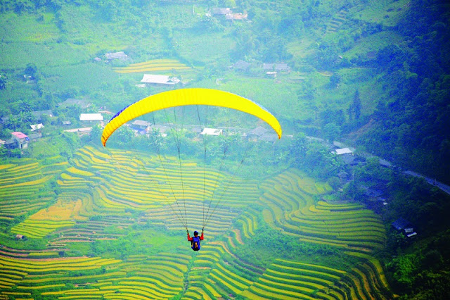 Opening Ceremony of Festival of Mu Cang Chai Terraces 2
